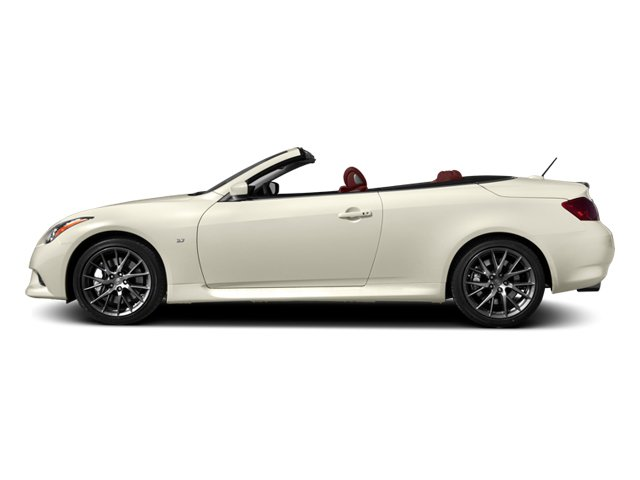 2014 INFINITI Q60 Convertible Pictures Q60 Convertible Convertible 2D IPL V6 photos side view