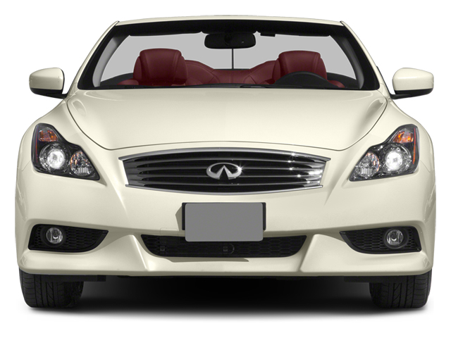 2014 INFINITI Q60 Convertible Prices and Values Convertible 2D IPL V6 front view