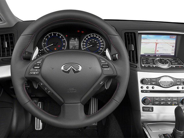2014 INFINITI Q60 Convertible Prices and Values Convertible 2D IPL V6 driver's dashboard