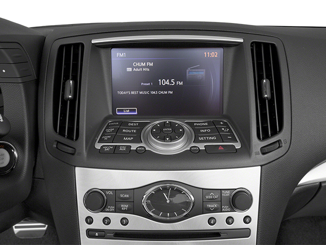 2014 INFINITI Q60 Convertible Prices and Values Convertible 2D IPL V6 stereo system