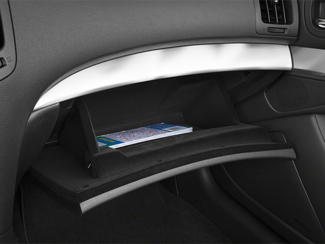 2014 INFINITI Q60 Convertible Prices and Values Convertible 2D IPL V6 glove box