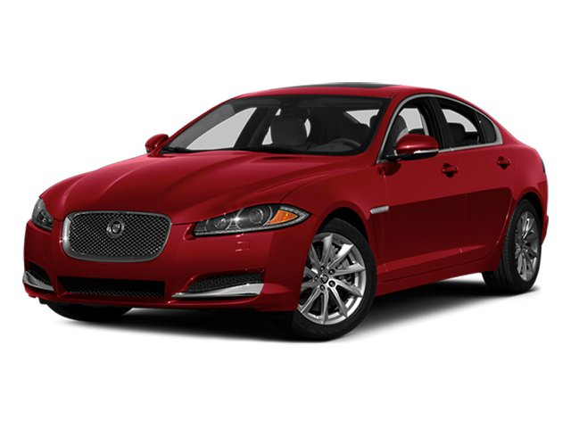 2014 Jaguar XF Prices and Values Sedan 4D Portfolio I4 Turbo side front view
