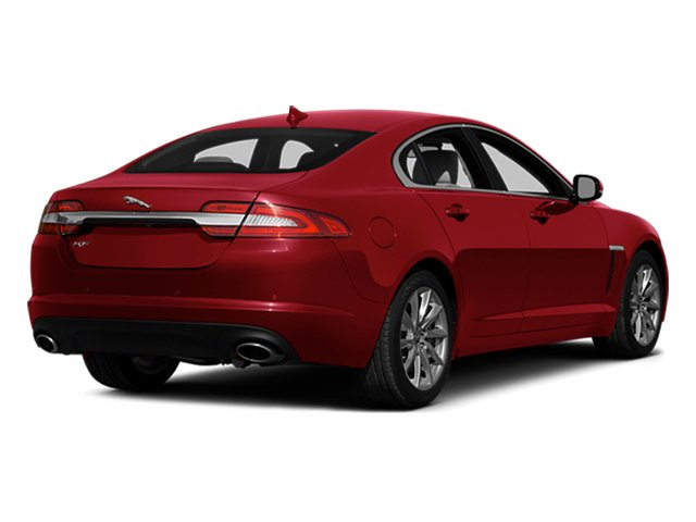 2014 Jaguar XF Prices and Values Sedan 4D Portfolio I4 Turbo side rear view