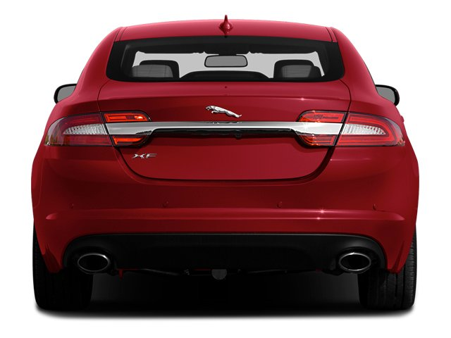 2014 Jaguar XF Prices and Values Sedan 4D Portfolio I4 Turbo rear view