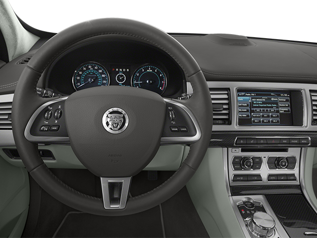 2014 Jaguar XF Prices and Values Sedan 4D Portfolio I4 Turbo driver's dashboard