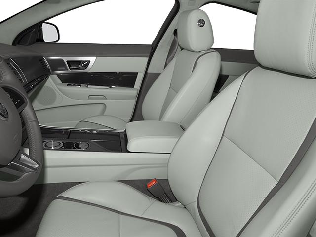 2014 Jaguar XF Prices and Values Sedan 4D Portfolio I4 Turbo front seat interior