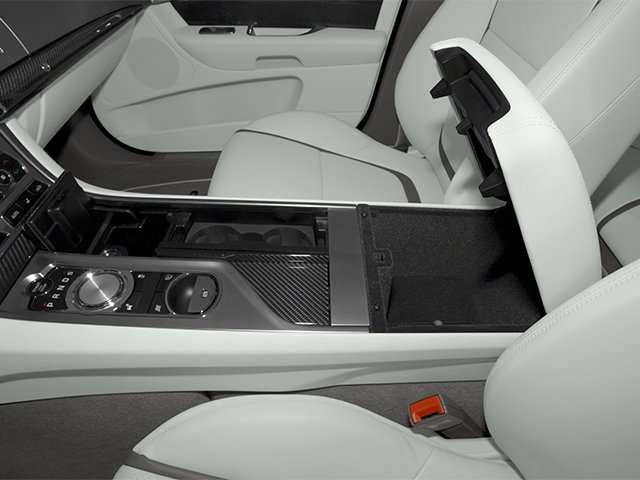 2014 Jaguar XF Prices and Values Sedan 4D Portfolio I4 Turbo center storage console
