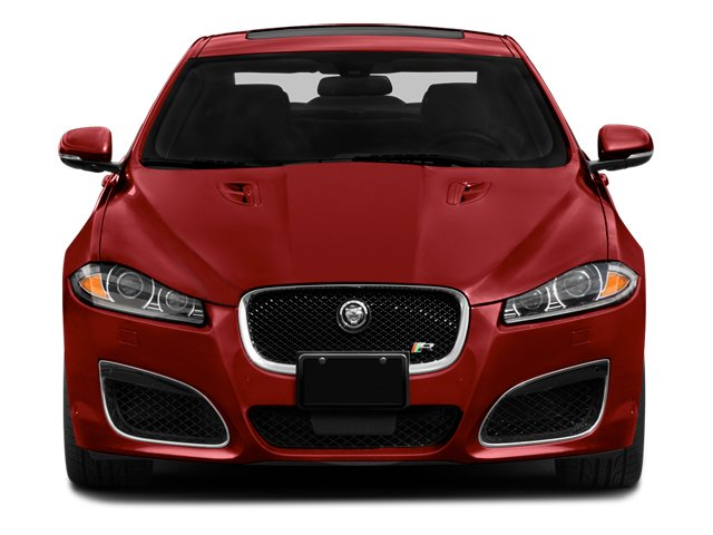 2014 Jaguar XF Pictures XF Sedan 4D XFR-S V8 Supercharged photos front view