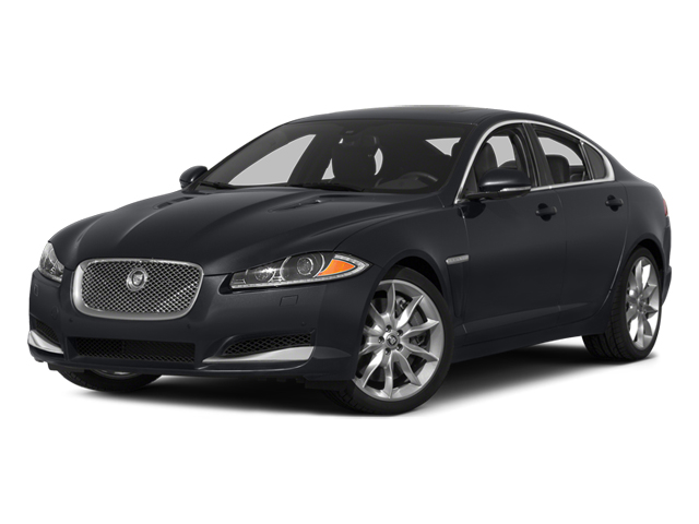 2014 Jaguar XF Prices and Values Sedan 4D Portfolio V6 Supercharged side front view