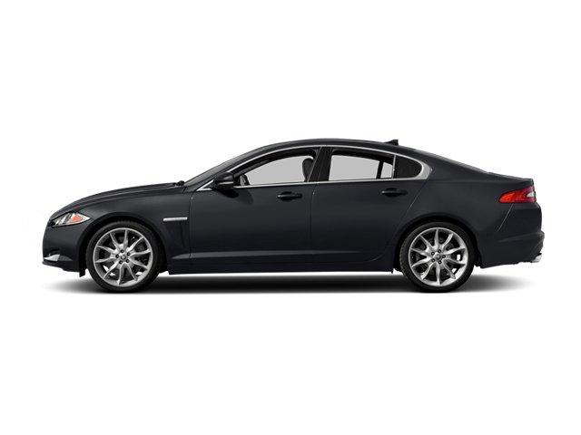 2014 Jaguar XF Pictures XF Sedan 4D V6 Supercharged photos side view