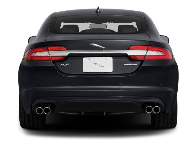 2014 Jaguar XF Prices and Values Sedan 4D Portfolio V6 Supercharged rear view