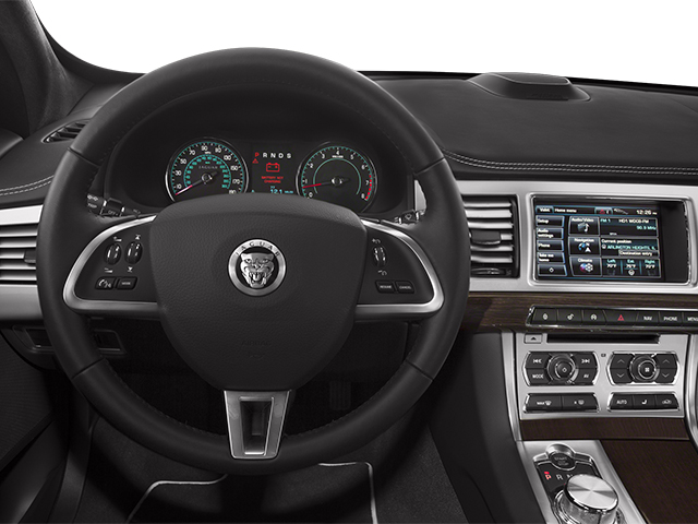 2014 Jaguar XF Prices and Values Sedan 4D Portfolio V6 Supercharged driver's dashboard