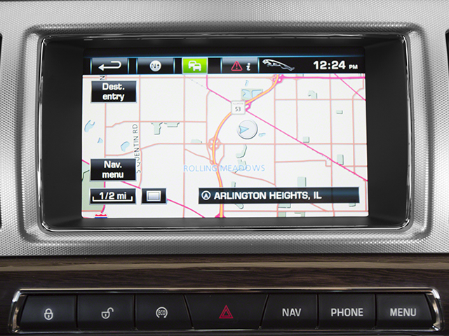 2014 Jaguar XF Prices and Values Sedan 4D Portfolio V6 Supercharged navigation system