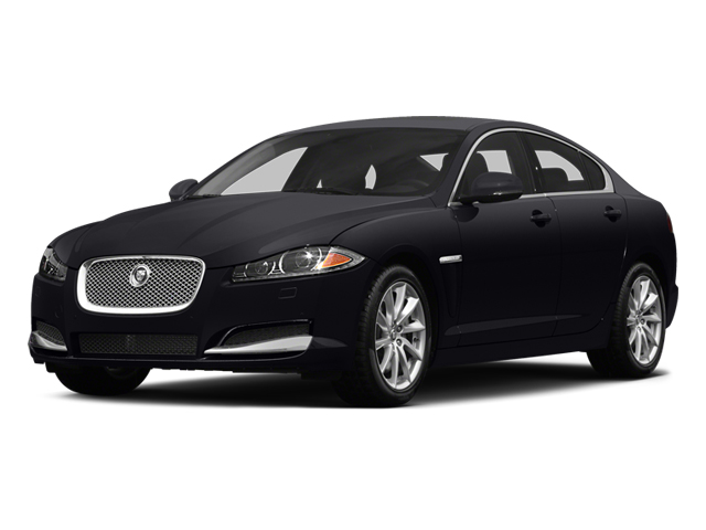 2014 Jaguar XF Prices and Values Sedan 4D V8 Supercharged side front view