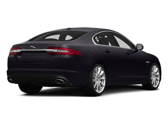 2014 Jaguar XF Prices and Values Sedan 4D V8 Supercharged side rear view