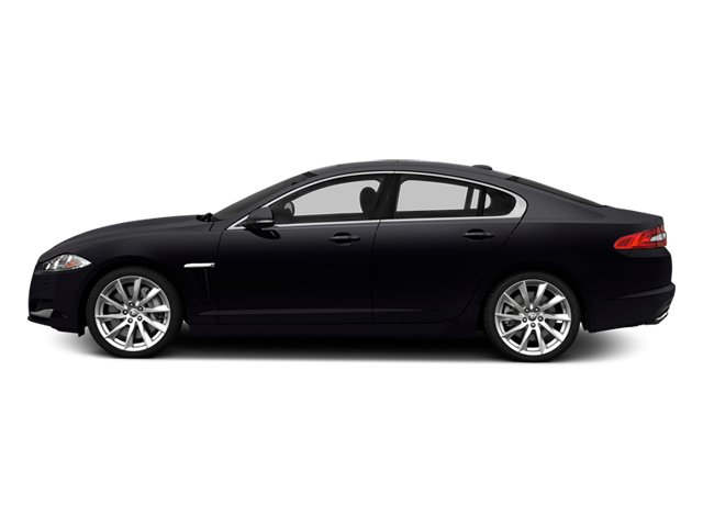 2014 Jaguar XF Prices and Values Sedan 4D V8 Supercharged side view