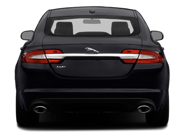 2014 Jaguar XF Prices and Values Sedan 4D V8 Supercharged rear view