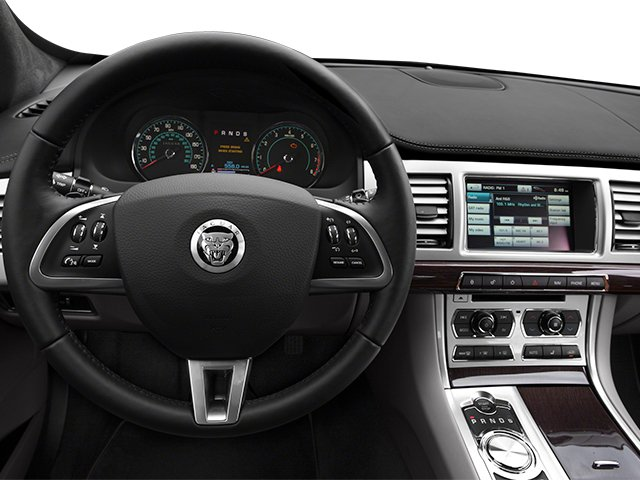 2014 Jaguar XF Prices and Values Sedan 4D V8 Supercharged driver's dashboard