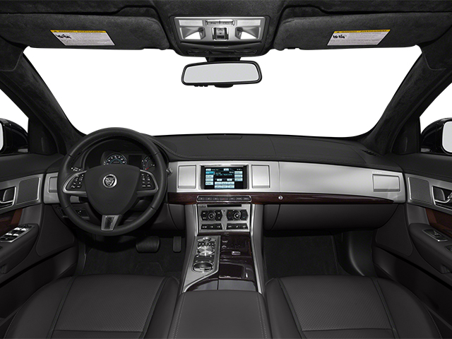 2014 Jaguar XF Prices and Values Sedan 4D V8 Supercharged full dashboard