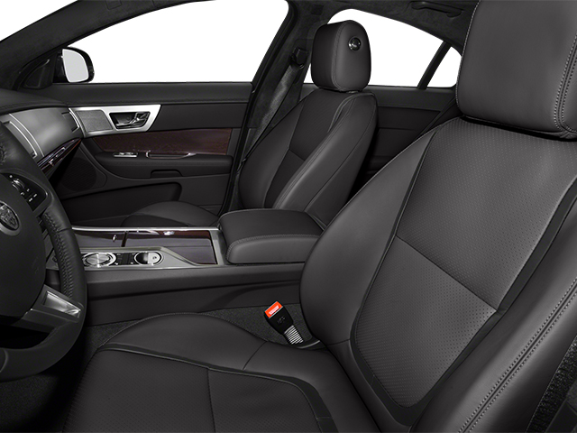 2014 Jaguar XF Prices and Values Sedan 4D V8 Supercharged front seat interior