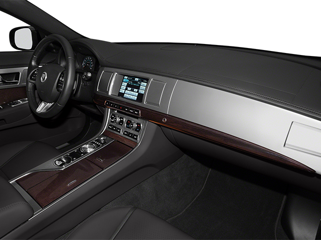 2014 Jaguar XF Prices and Values Sedan 4D V8 Supercharged passenger's dashboard