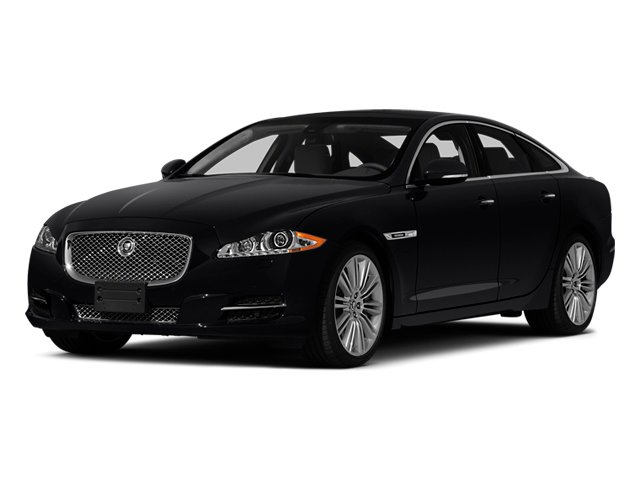 2014 Jaguar XJ Prices and Values Sedan 4D XJR V8 Supercharged side front view