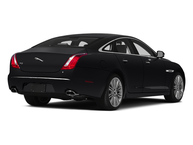 2014 Jaguar XJ Prices and Values Sedan 4D XJR V8 Supercharged side rear view