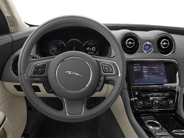 2014 Jaguar XJ Prices and Values Sedan 4D XJR V8 Supercharged driver's dashboard