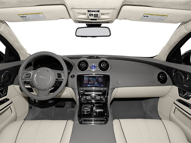 2014 Jaguar XJ Prices and Values Sedan 4D XJR V8 Supercharged full dashboard
