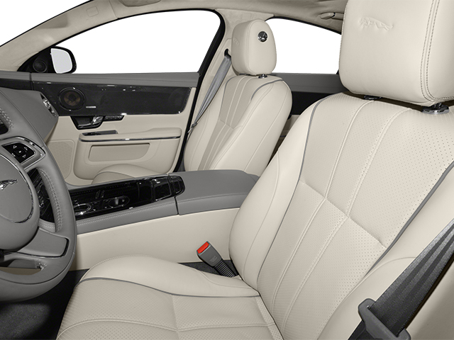 2014 Jaguar XJ Prices and Values Sedan 4D XJR V8 Supercharged front seat interior