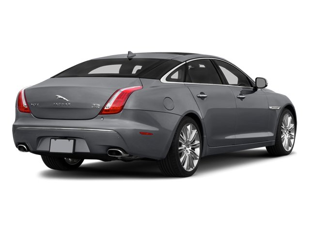 2014 Jaguar XJ Prices and Values Sedan 4D L Portolio V6 side rear view