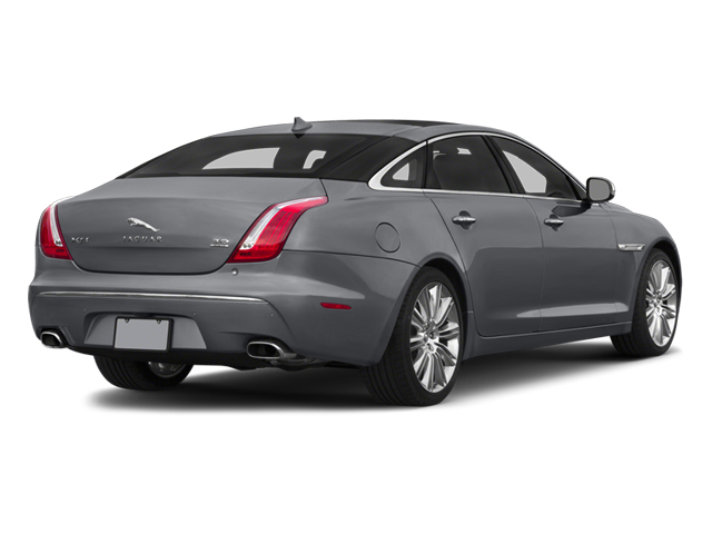 2014 Jaguar XJ Pictures XJ Sedan 4D L Portolio V6 photos side rear view