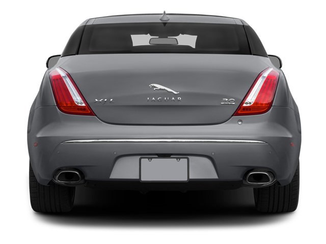 2014 Jaguar XJ Prices and Values Sedan 4D L Portolio V6 rear view