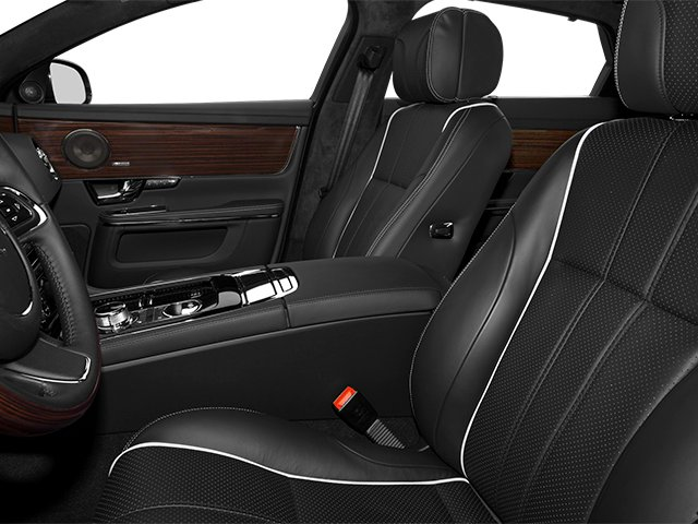 2014 Jaguar XJ Prices and Values Sedan 4D L Portolio V6 front seat interior