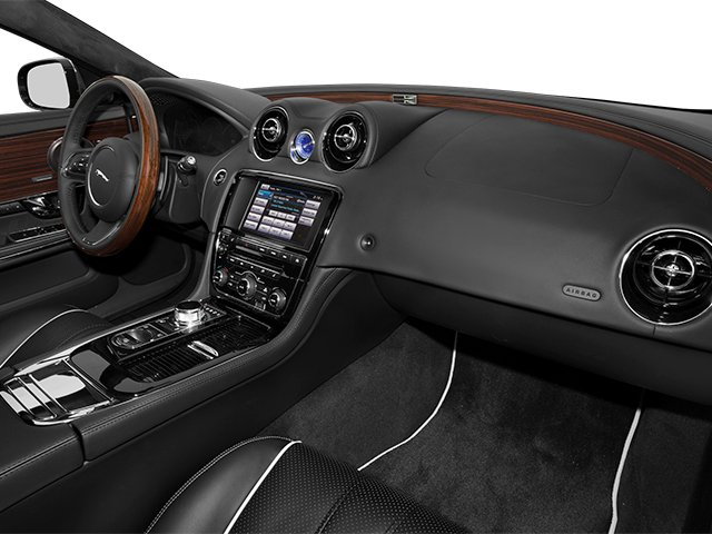 2014 Jaguar XJ Prices and Values Sedan 4D L Portolio V6 passenger's dashboard