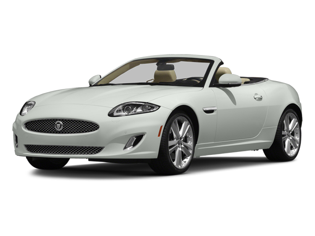 2014 Jaguar XK Prices and Values Convertible 2D V8 side front view