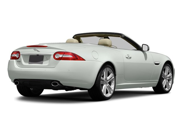 2014 Jaguar XK Prices and Values Convertible 2D V8 side rear view