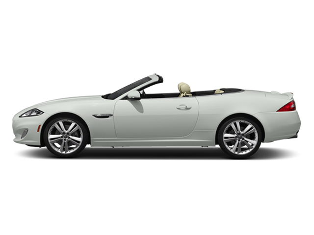 2014 Jaguar XK Prices and Values Convertible 2D V8 side view