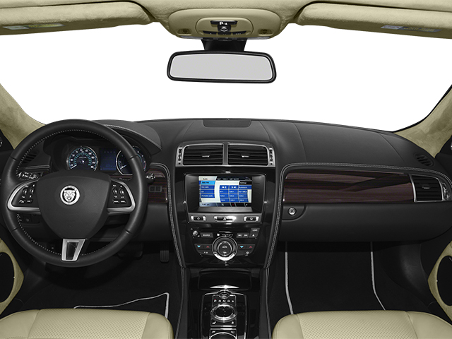 2014 Jaguar XK Prices and Values Convertible 2D V8 full dashboard