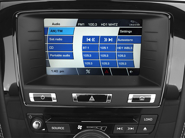 2014 Jaguar XK Prices and Values Convertible 2D V8 stereo system