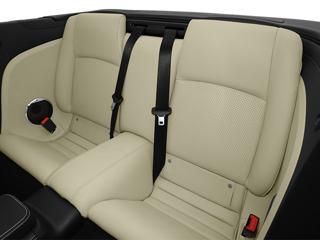 2014 Jaguar XK Prices and Values Convertible 2D V8 backseat interior