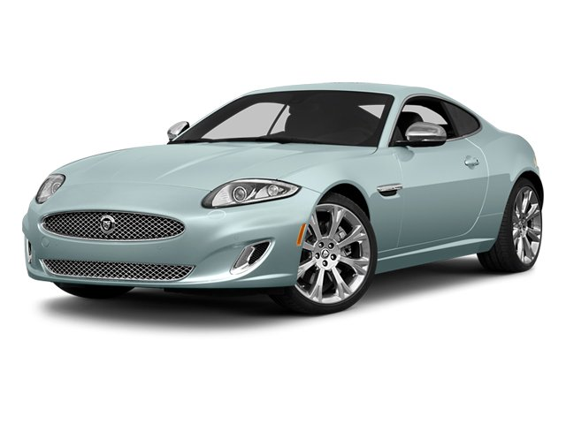 2014 Jaguar XK Pictures XK Coupe 2D V8 photos side front view