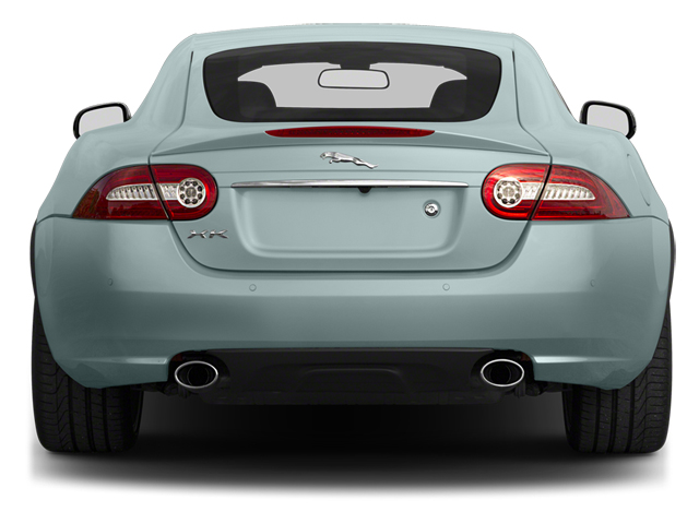 2014 Jaguar XK Pictures XK Coupe 2D V8 photos rear view