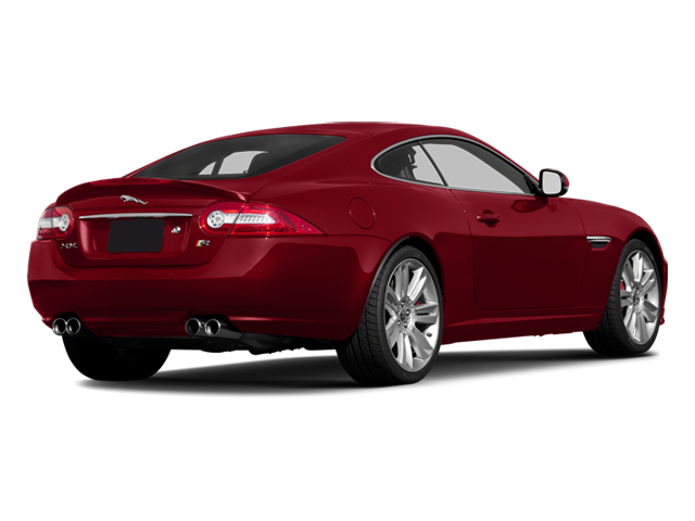 2014 Jaguar XK Prices and Values Coupe 2D XKR V8 Supercharged side rear view