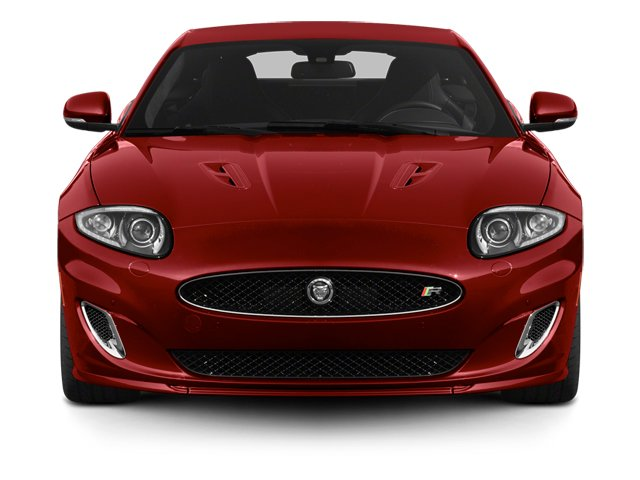 2014 Jaguar XK Prices and Values Coupe 2D XKR V8 Supercharged front view