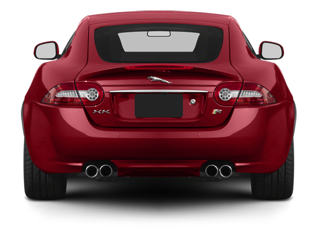 2014 Jaguar XK Prices and Values Coupe 2D XKR V8 Supercharged rear view