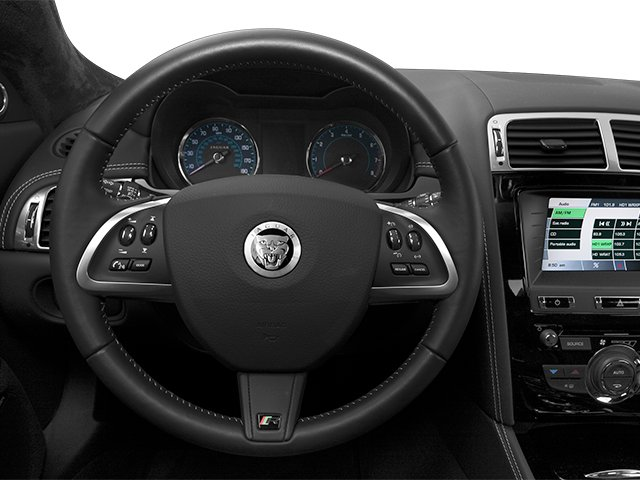 2014 Jaguar XK Prices and Values Coupe 2D XKR V8 Supercharged driver's dashboard