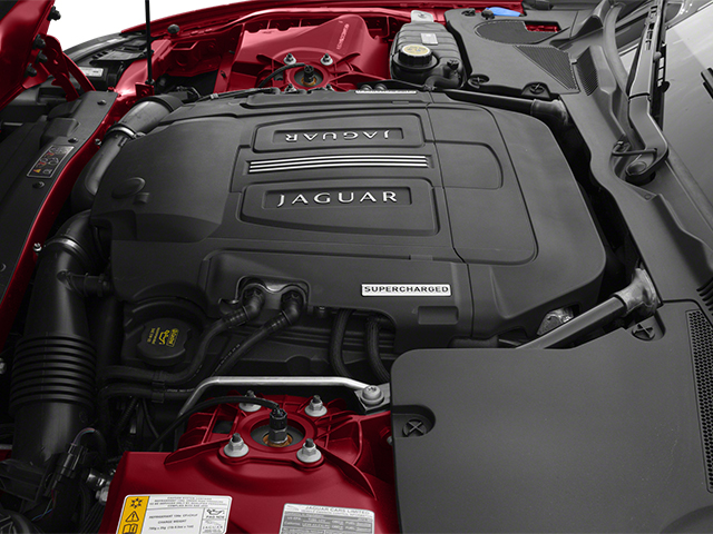 2014 Jaguar XK Prices and Values Coupe 2D XKR V8 Supercharged engine