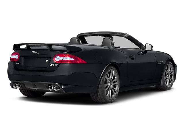 2014 Jaguar XK Pictures XK Convertible 2D XKR-S V8 Supercharged photos side rear view