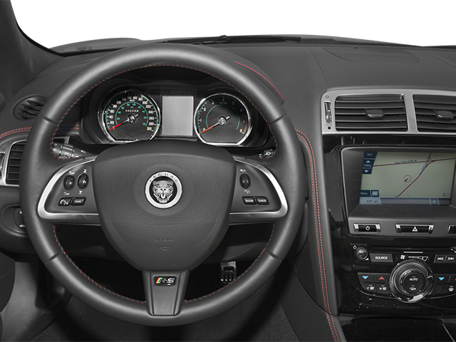 2014 Jaguar XK Pictures XK Convertible 2D XKR-S V8 Supercharged photos driver's dashboard